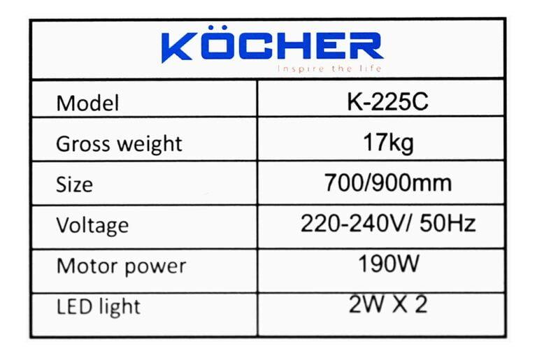 kocher-k-225c-9-org