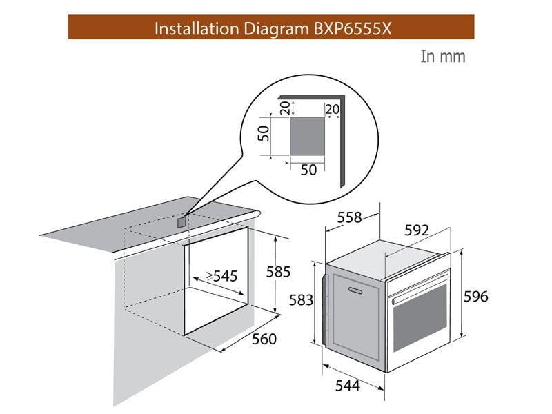 BXP6555X bv- besthome