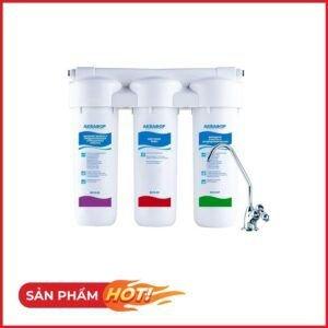 Máy lọc nước AQUAPHOR TRIO FE dùng cho nước nhiễm kim loại nặng besthome