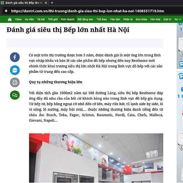 Đánh giá siêu thị Bếp lớn nhất Hà Nộ
