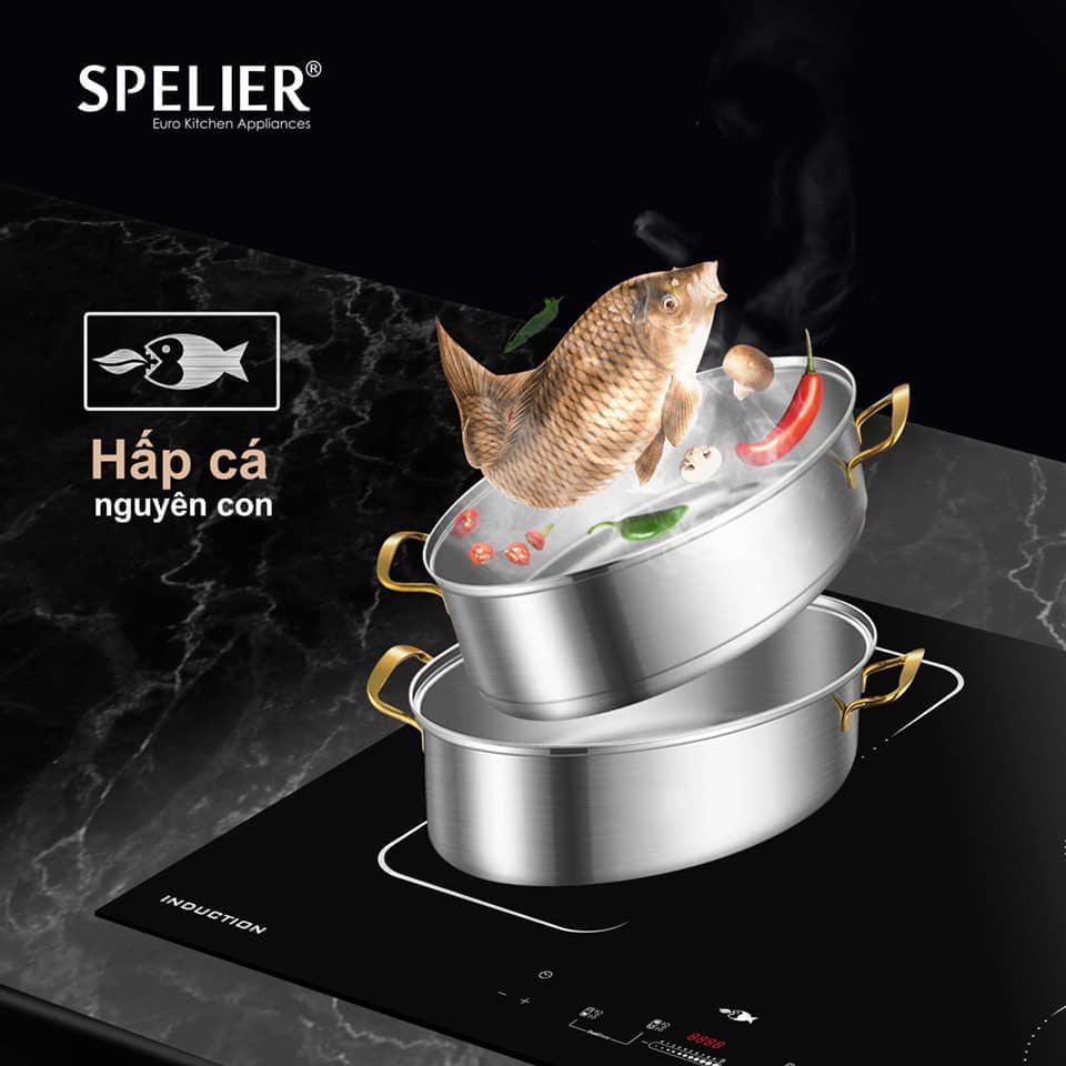 Bếp từ 3 vùng nấu SPELIER – SPF 948S xuất xứ Pháp