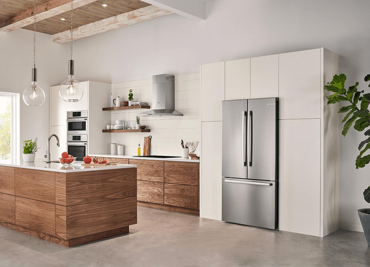 """Bếp đẹp chuẩn, gọn gàng đến từng """"cen-ti-mét"""" với KHU TRỮ THỰC PHẨM post image"""