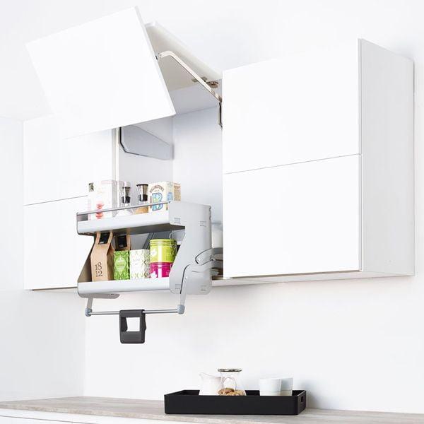 Không gian bếp gọn gàng sạch sẽ với KHU TRỮ ĐỒ DÙNG post image