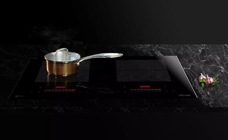 Bếp từ 2 vùng nấu SPELIER SPM-868I xuất xứ Malaysia