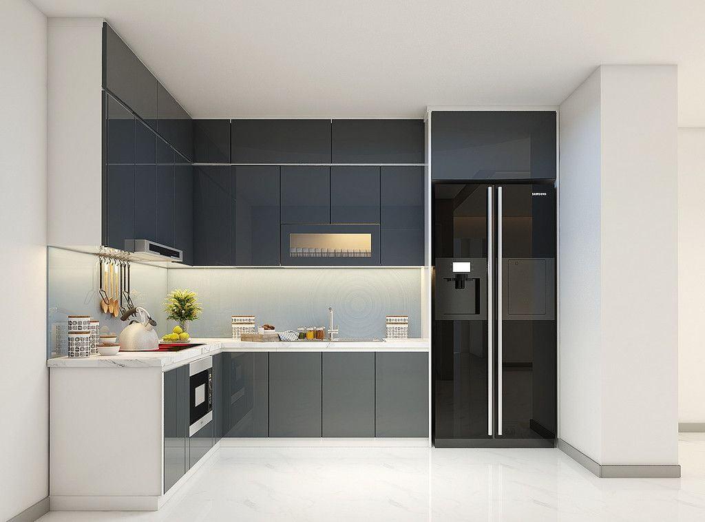 Quà tặng bản vẽ thiết kế không gian bếp Besthome
