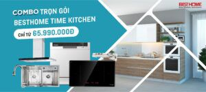 Combo tủ bếp cao cấp BESTHOME TIME KITCHEN 7 in 1